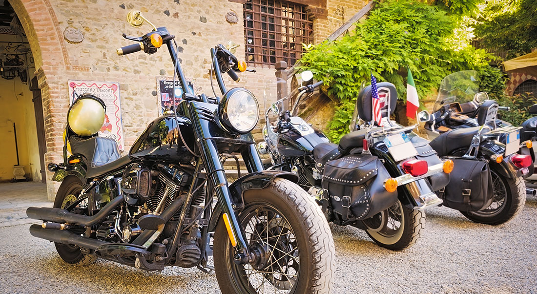motoraduni Harley Davidson